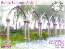 *SO* Gothic Romance Arch