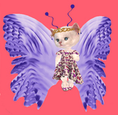 Lexxie Dinkies Butterfly Outfit