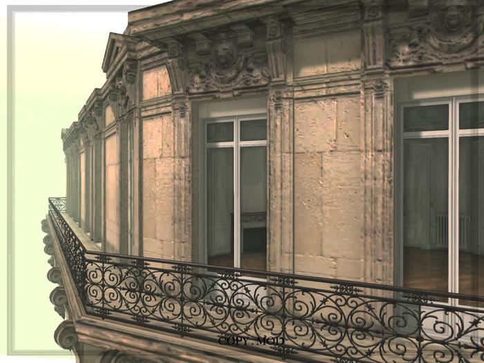 Paris Apartment - Haussmann Noble floor - C&G -