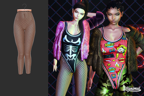 [Canimal] Licious Leggings FIshnet
