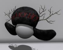 Ho Ho Ho Hat (Black)