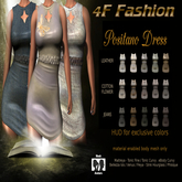 4F Fashion - Positano DRESS (wear to unpack)