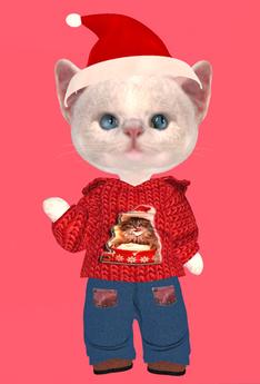Lexxie Dinkies Santa Boys Outfit