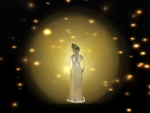 BODY PARTICLE/EMITTER Goddess Aura