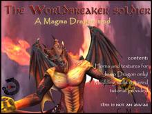 Wear Me- MAgma Dragon mod (Male) - for Jomo