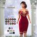::TD:: Kay FItmesh Dress ~ FATPACK