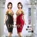 ::TD:: Gloria Fitmesh Dress - 28 Textures HUD DEMO
