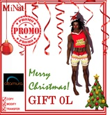 GIFT MN CHRISTMAS men's outfit for Altamura