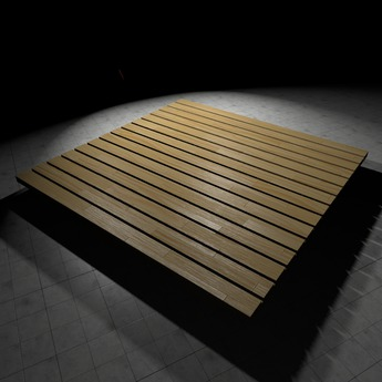 [L.W.T] 3D Wood Base ❤ Full Perm