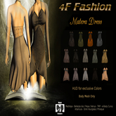 4F Fashion Matera DRESS(wear to unpack)