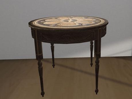 Fancy Table Mesh - 1 Prim