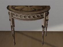 Fancy Table Half  Mesh - 1 prim