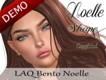 "Noelle Shape ""LAQ Bento Noelle Head"" Demo"