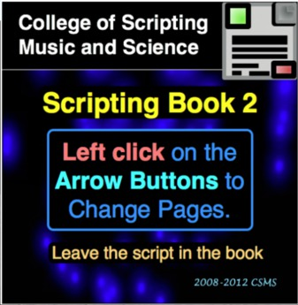College of Scripting Music and Science SCRIPTING BOOK 2