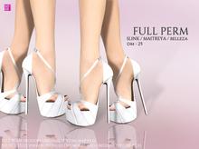 [DM] Full Perm  25 High Platform Heel