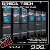 Breda Tech Supercomputer 3.0 Blue  (Boxed)