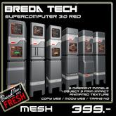 Breda Tech Supercomputer 3.0 Red  (Boxed)