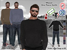 [VM] Mason - Men's 1 Piece Sweater Jean Outfit for Classic, Signature, Belleza, Gamit, Adin Bento, Slink, Onupup