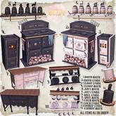 Birdy - Forest Kitchen - Oven - Dark RARE