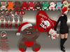 [SuXue Mesh] Christmas Teddy Bear Cute Plushies - Heart - Hud include 10 Teddy Bear - 6 Animations - Resize - Transfer