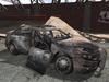 Police car Destroyed