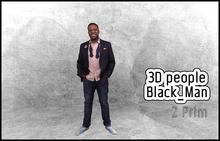 MESH PEOPLE -YO_V.Black_Man