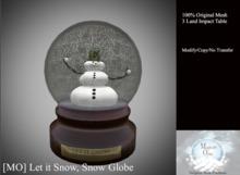 [MO] Let it Snow, Snow Globe