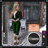 [RnR] Swag Let It Snow Holiday & Christmas Outfit (Green) [BOX]