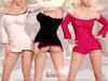 [ LsR ] - Sexy Elisha Dress Velvet