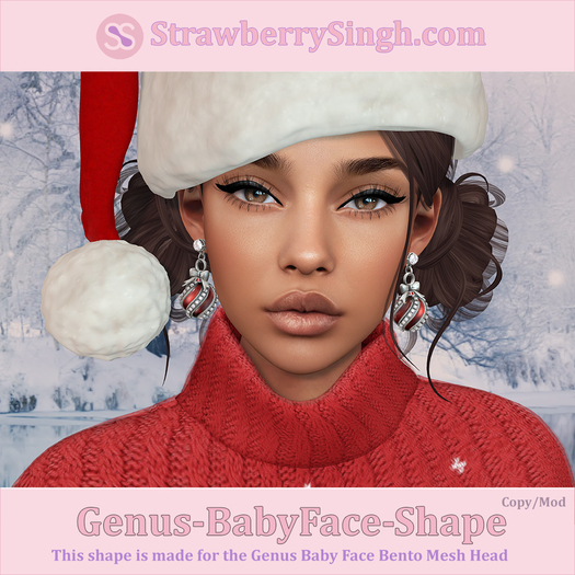 StrawberrySingh.com Genus-BabyFace Shape