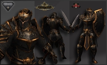 TSC-Battle Paladin Black (AESTHETIC BENTO)