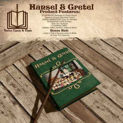 [Twice Upon a Time] Hansel & Gretel Storybook Combo