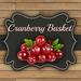 DFS TEXTURE - Cranberry Basket
