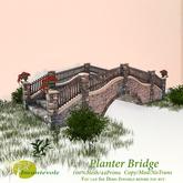 *INCANTEVOLE* Planter Bridge
