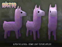 HILTED - Alpen the Alpaca - Cosmic Pink