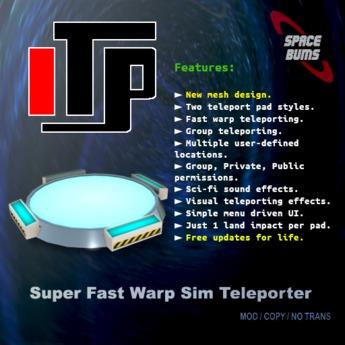 iTP (Teleport Pad)