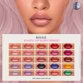 Bossie. plastic lip gloss [genus] (wear me)