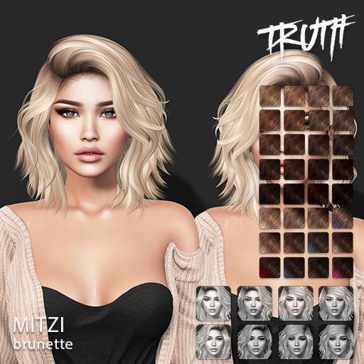TRUTH Mitzi (Mesh Hair) - Brunette