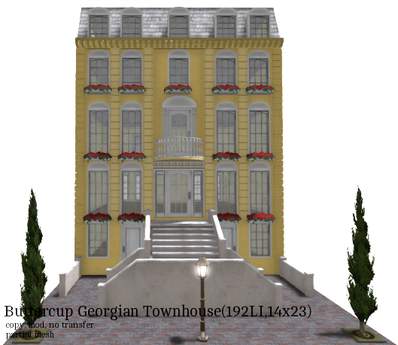Buttercup Georgian Townhouse(192LI,14x23)