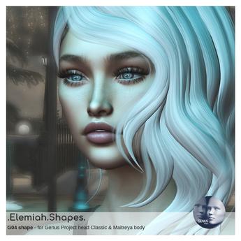 .Elemiah.Shapes. G04 - for Genus classic head & Maitreya