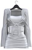 Seniha. Celin Dress&Shirt // Grey