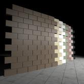 [L.W.T] 3D Bricks Wall ❤ Full Perm