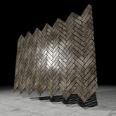 [L.W.T] 3D Herringbone Tiles ❤ Full Perm