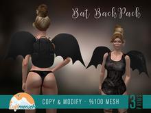 [Luftmensch Crafts] Bat BackPack