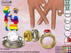 [SuXue Mesh] FATPACK Alara Bento & Classic UnRigged Rings Hud Resize Proposal Pose For Lesbians