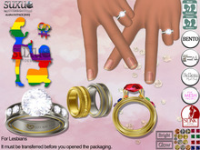 [SuXue Mesh] FATPACK Bento & Classic UnRigged Rings Alara Hud Resize Proposal Pose For Lesbians