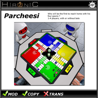 !Hironic - Parcheesi