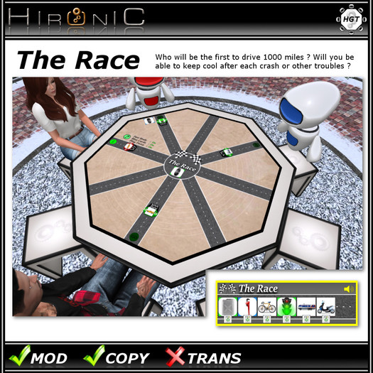 !Hironic - The Race