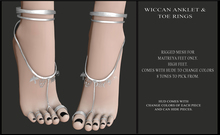 Candy Crunchers - Wiccan Anklet & Toe Rings - Maitreya HIGH