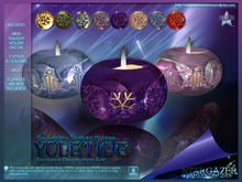 [Stargazer Creations] Yule Tealights Set - PROMO